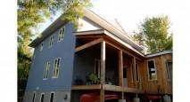 Ecological custom home