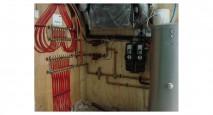 Energy-Efficient Radiant Floor Manifold