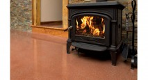 An energy efficient thermal mass floor