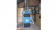 Gasification Wood Boiler