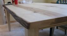 Live-Edge Custom Wood Table