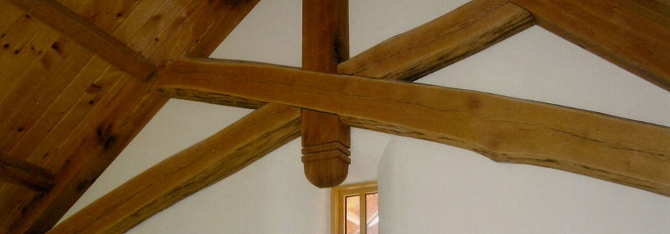 Cool Timber Frame Detail