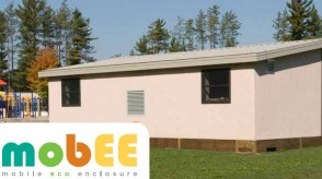 Exterior photo of Evolve Eco-Friendly Portable Classroom