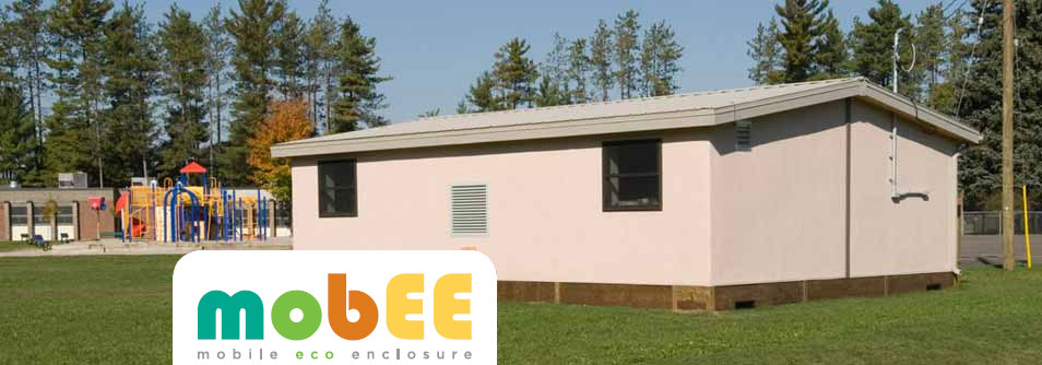 Exterior photo of Evolve Eco-Friendly Portable Classroom