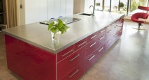 Eco-friendly kitchen island