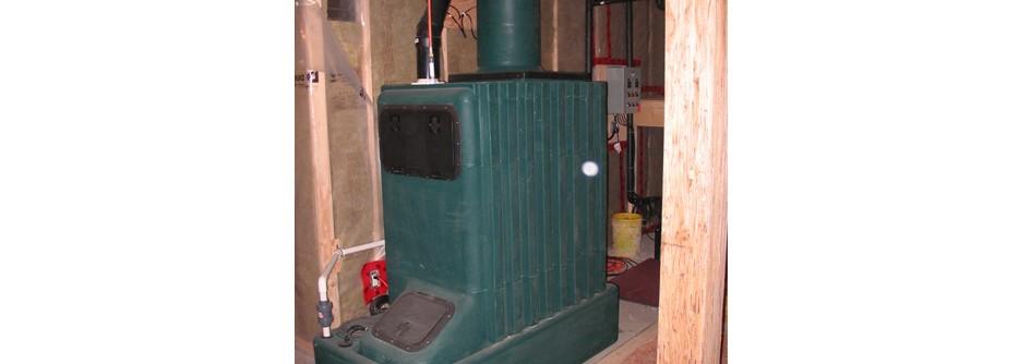 Modern green composting toilet