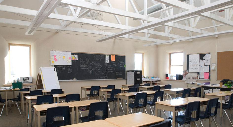 Classroom Design Experts : Passive solar design building to passivhaus standards