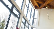Energy-efficient triple-glazed windows