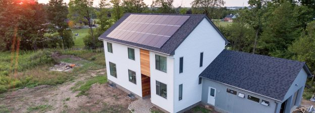 Passive House in Puslinch Ontario